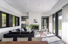 Low-Slung All-Black Homes