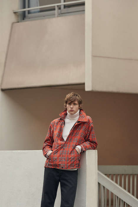 Urban Contemporary Fashion Collections - Sandro Homme & Helly Hansen Combine Style and Functionality