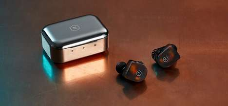 Amazingly Stylish Wireless Earphones - Master & Dynamic Succeed in Refining the Wireless Silhouette