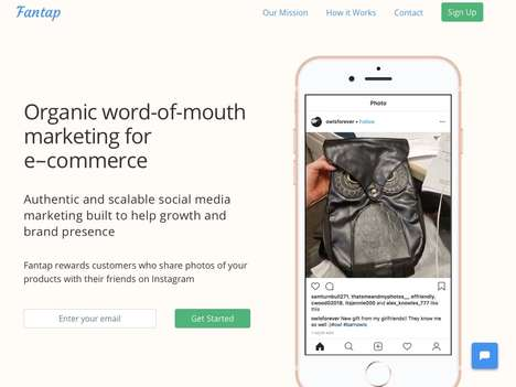 Organic eCommerce Marketing Solutions - 'Fantap' Turns Customers into Influencers for Your Brand