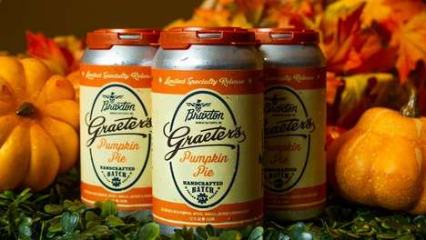 Collaboration Pumpkin Pie Beers - The Braxton Brewing Co. Pumpkin Pie Ale is Handcrafted