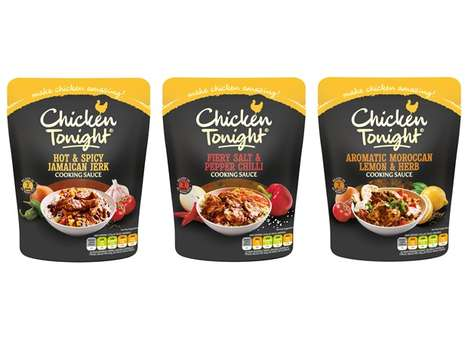 Premixed Chicken Cooking Sauces - These New Chicken Tonight Pouches are Easy to Prepare