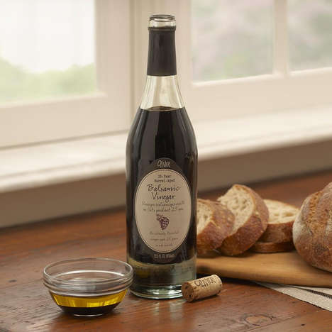 Barrel-Aged Balsamic Vinegars - This Reserve Balsamic Vinegar Was Barrel-Aged for 25 Years in Italy
