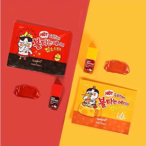 Ramen-Inspired Cosmetic Collections