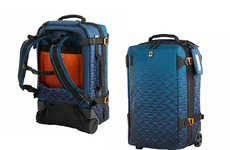 Adventure Travel Suitcase Backpacks - The Victorinox Vx Touring Global Carry-On Protects Your Gear
