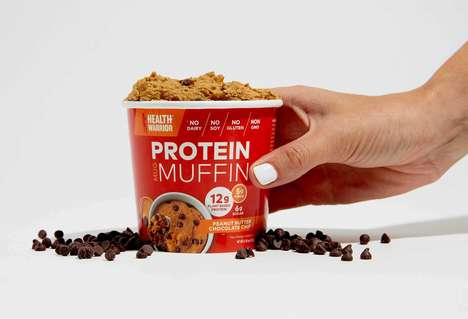 Microwaveable Protein Muffins - Health Warrior's Single-Serve Muffin Reinvents Microwavable Desserts
