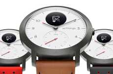 Sporty Hybrid Smartwatches
