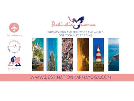 Eco-Friendly Yoga Travel Mats - Destination Karma Shows the World's Beauty One Yoga Mat at a Time