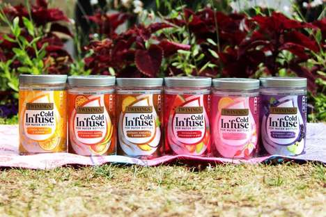 Sugar-Free Cold Infusion Teas - Twinings' Cold In'fuse Teas are Specially Designed for Cold Water