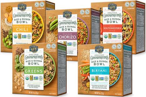 All-Organic Savory Grain Bowls