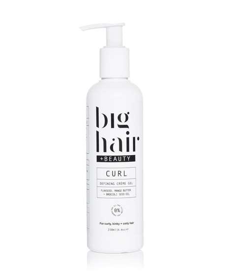 Cream-Like Hair Gels