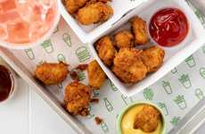 Sous-Vide Chicken Bites - Shake Shack is Currently Testing Chick'n Bites in New York City