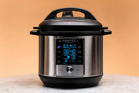 Sous Vide-Enabled Pressure Cookers - The Instant Pot Max is Capable of Cooking Endless Meals
