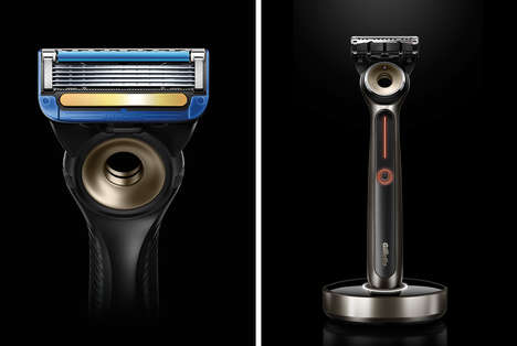 Soothing Heated Face Razors