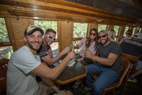Beer-Tasting Train Tours - The Durango Brew Train Takes Beer Lovers Through the Colorado Mountains