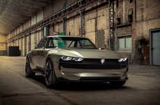 Retro Electric Muscle Cars
