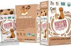 Clean Eating Child Snacks - The Perfect Kids Organic Refrigerated Snack Bar is Superfood-Infused