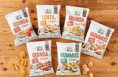 Healthful Free-From Chip Snacks