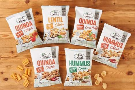 Healthful Free-From Chip Snacks - These Eat Real Chips Come in Three Gluten-Free Options