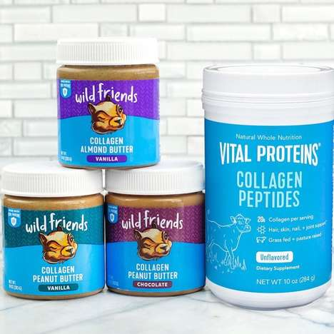 Collagen-Enhanced Nut Butters