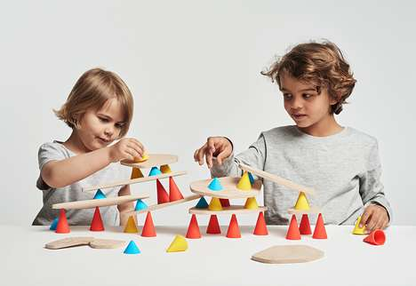 Stackable Creative Toys - Piks Helps to Develop a Child's Concentration and Imagination