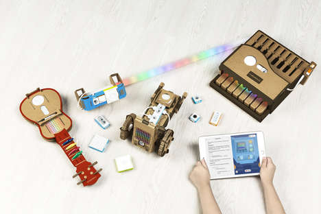 Practical Programming Kits - Makeblock's Neuron Explorer Kit Teaches Apple's Programming Language