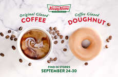 Coffee-Glazed Donuts - Krispy Kreme is Remixing Its Original Glazed Donut with a Coffee Flavor