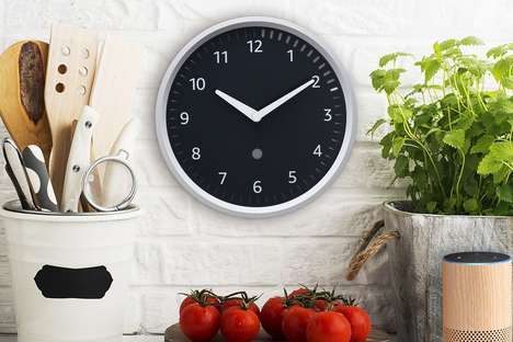 Voice Assistant Wall Clocks
