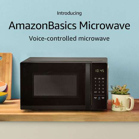 Low-Cost Voice Assistant Microwaves