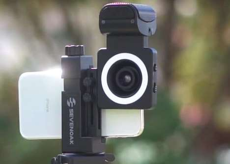 All-in-One Smartphone Videographer Accessories - The 'SmartCine' Boasts a Highly Portable Design