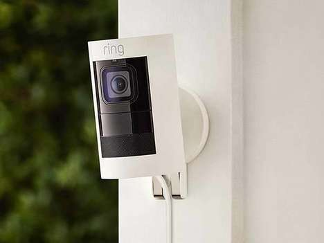 Voice Assistant-Enabled Security Cameras