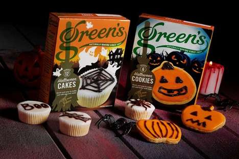 Spooky Seasonal Baking Mixes - These Green's Halloween Dessert Mixes are Sweet and Easy to Prepare