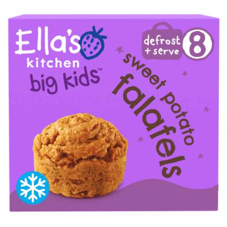 Kid-Friendly Frozen Foods - The Frozen Food Products for Kids by Ella's Kitchen are Healthy