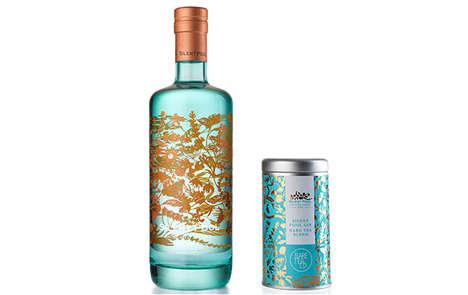 Botanical Cocktail-Themed Teas