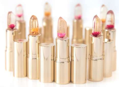 Color-Adjusting Cruelty-Free Lipsticks - Blush & Whimsy's Product Adjusts to Body Temperature & pH