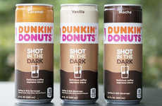 Premixed Canned Coffee Beverages - The Dunkin' Donuts Shot in the Dark Comes in Three Flavors