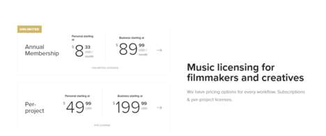 Music Licensing Subscriptions - Musicbed's Creator Feature Gives YouTubers Access to Music
