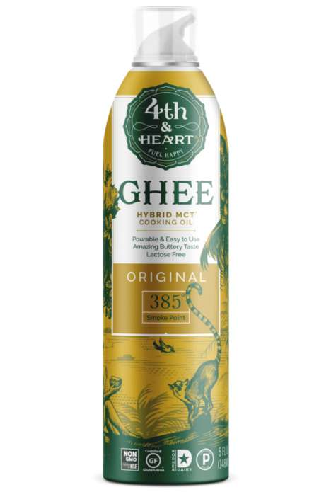 Hybrid MCT Ghee Oils
