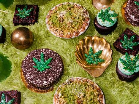 CBD-Infused Dessert Collections