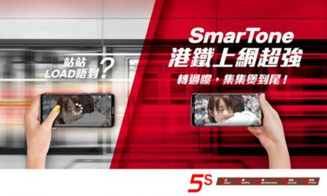Location-Based Telecommunication Marketing - SmarTone Taps into myTV SUPER for a Targeted Campaign