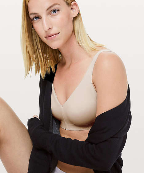 High-Performance Everyday Bras - The Non-Athletic Lululemon 'Like Nothing Bra' is for Daily Life