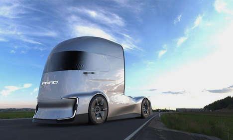 Autonomous Aerodynamic Shipping Rigs
