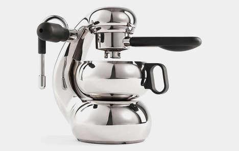 Modern Stovetop Espresso Brewers