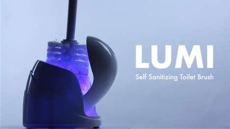 Self-Sanitizing Toilet Brushes
