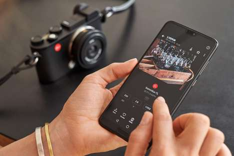 Camera-Controlling Apps - The Leica Fotos App Gives Users Control of Their Camera with a Smartphone