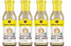 Bagel-Flavored Salad Dressings