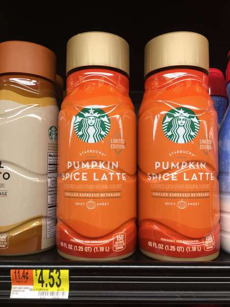 Supersized Pumpkin Lattes