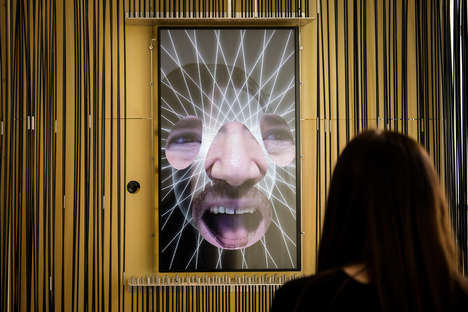 Facial Recognition Tech Installations - R Luke Dubois & Zach Lieberman's Piece is Somewhat Dystopian