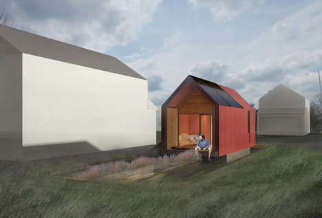 Mushroom-Infused Biodegradable Buildings - Redhouse Architecture is Addressing the Housing Crisis