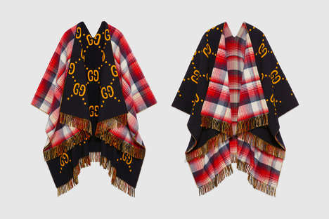 Luxe Reversible Ponchos